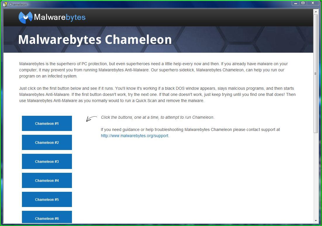 how to download malwarebytes chameleon