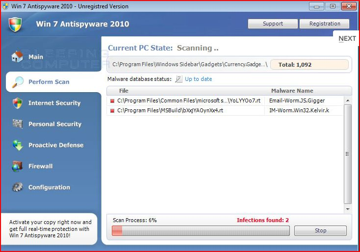 XP Internet Security,Antivirus Vista 2010, and Win 7 Antispyware Removal Guide (2/6)