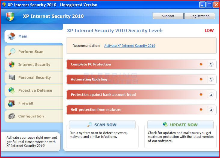XP Internet Security,Antivirus Vista 2010, and Win 7 Antispyware Removal Guide (3/6)